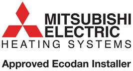Ecodan Approved Installer Logo